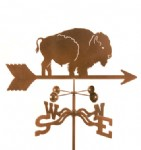 Native America Weather Vane, buffalo
