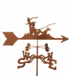 FISHING WEATHER VANES