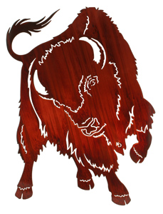 Buffalo Wall Hanging
