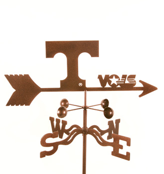 Tennessee Vols Weather Vanes