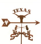 Texas Longhorns Weather Vanes