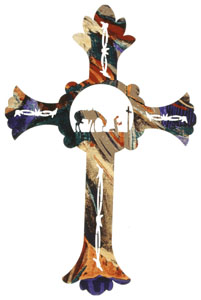 Cross Wall art, decor and wall hangings of Crosses
