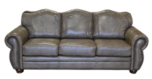 Rustic Genuine Leather Sofas, Couches