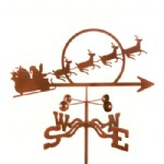 CHRISTMAS WEATHER VANES