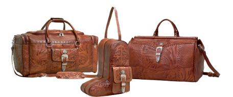 Rustic Western Luggage