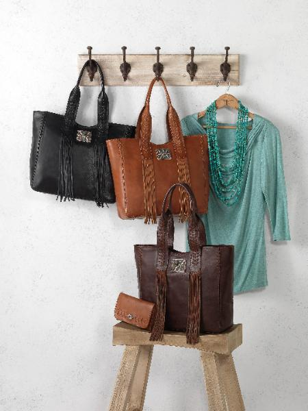 Country Western ladies Purses with fringe, tassels