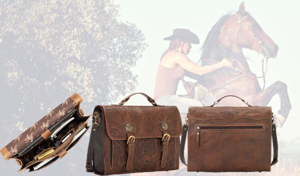 Country Western Laptop Briefcases